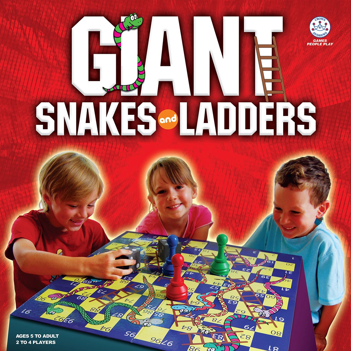 Giant Snakes Ladders Goliath Games Goliath Games