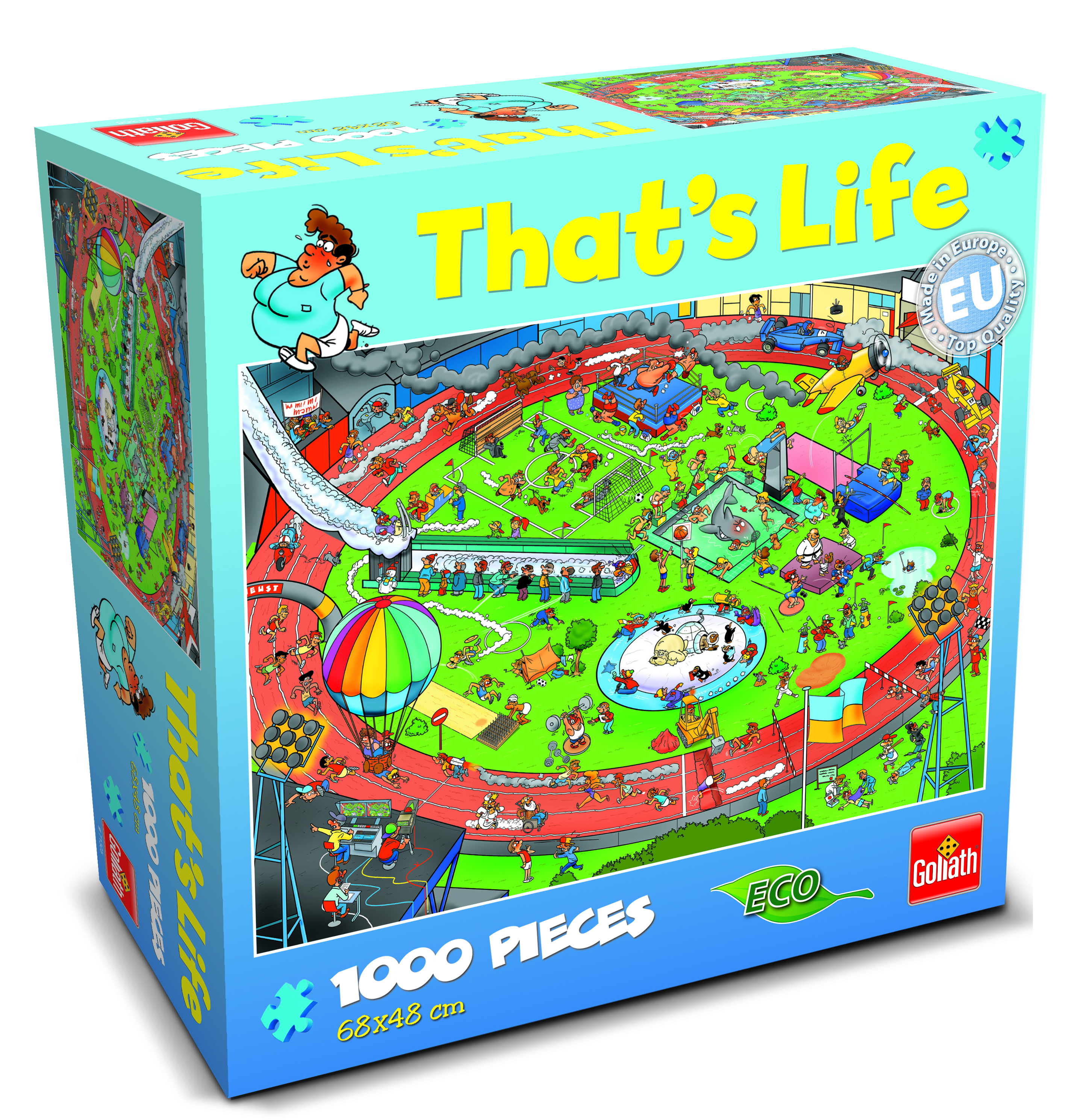 That 39 S Life Sport Jigsaw Puzzle Goliath Games Goliath Games