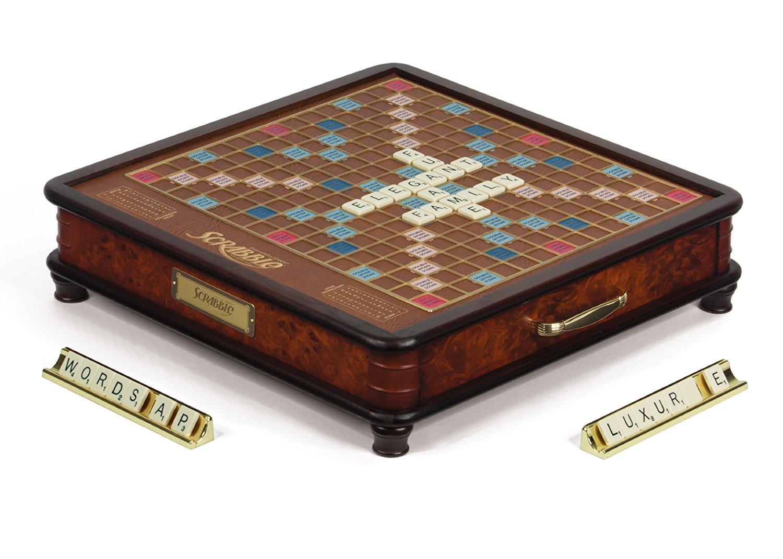 Scrabble luxury edition | pottery barn.