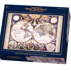 Jigsaw puzzles archieven pagina 14 van 17 goliath 1 goliath 1 the worlds most beautiful 17th century double hemisphere world map by pieter goos jigsaw puzzle gumiabroncs Images