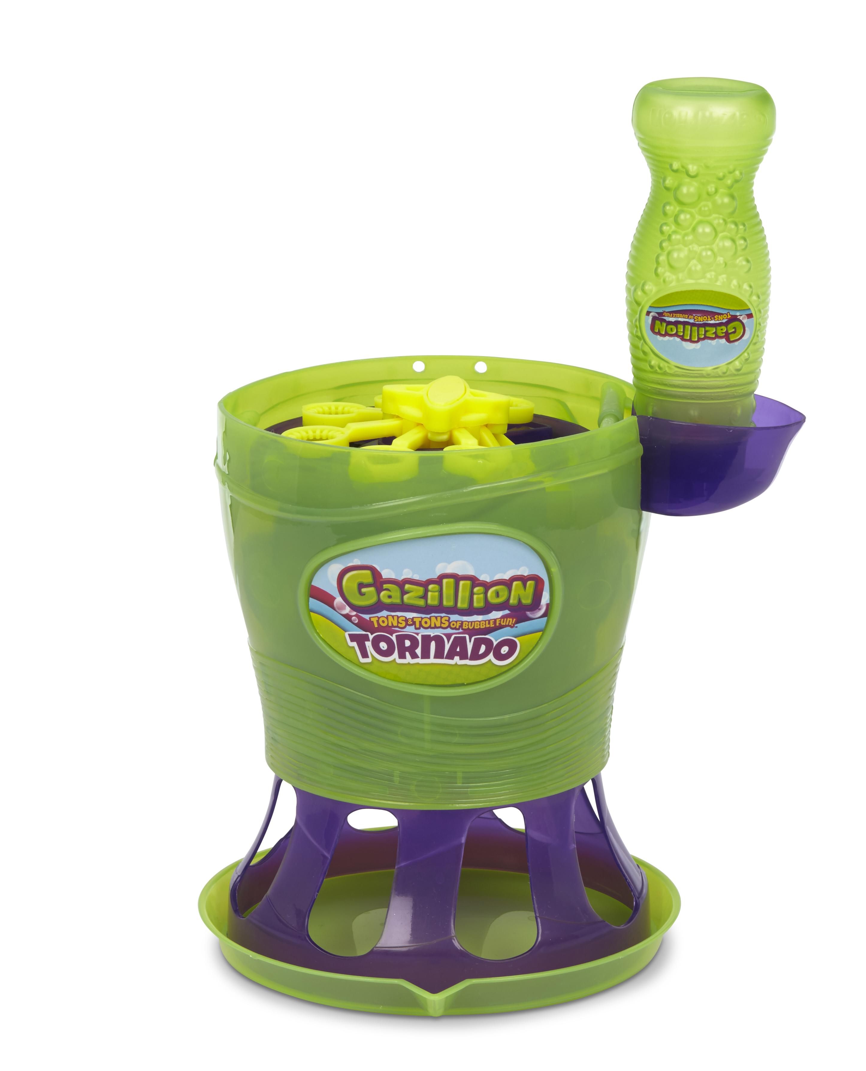 gazillion tornado bubble machine instructions